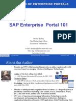 SAP Enterprise Portal Intro