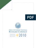 Ohio Attorney General 2010 Annual Report