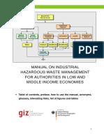 GIZ Manual on IHWM index