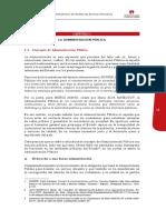 S3 LO T5 - La administracion publica y la reforma del servicio civil