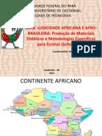 Padrçôes e Jogos Geométricos Africanos