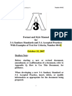 Format Style Manual
