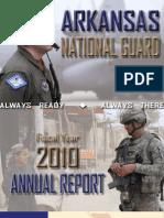 Arkansas National Guard 2010 Annual Report