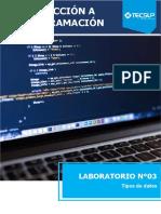 Laboratorio 03 Tipos de datos.docx