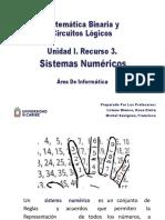 Unidad I. Recurso 3.Sistemas Numéricos 2