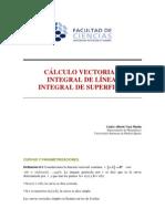 Integrales de Linea y Superficie