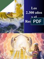 12. SANTUARIO. LOS 2.300 Y EL REMANENTE