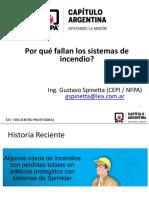 PPT - Fallas de Sistemas Contra Incendios