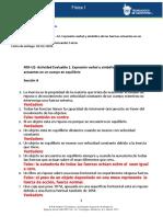 Mlll- U2 –A1. Expresión verbal y simbólica de las fuerzas actuantes en un cuerpo en equilibrio
