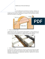 CIMBRAS DE OTROS MATERIALES