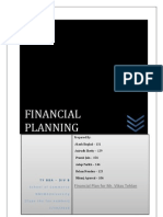 financial planning project