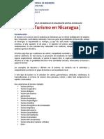 Guía No.1. Desarrollo de la actividad turística en Nicaragua