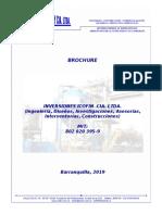 Brochure de Icofin 2019