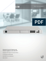 DataSheet Enterprise Security Gateway and Network Appliance with 10G SFP+ Ubiquiti UniFi Dream Machine PRO UDM-PRO.pdf