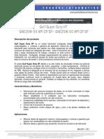 Gulf Super Duty CF SAE 25W50 API CF - SAE 25W60 API CF