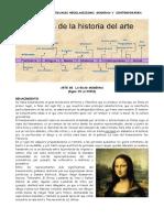 HISTORIA DE LAS ARTES VISUALES