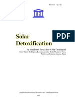 Solar Detoxification - for Cleaning Toxic Sites and Materials