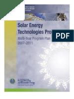 Solar Energy Technologies Program 2007-2011