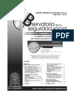 Actualidad y perspectivas del sistema pensional colombiano