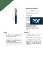 Ficha técnica concentrador