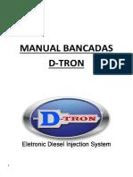 Manual Bancada D-tron - Com Acoplamentos