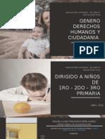 GENERO DERECHOS HUMANOS Y CIUDADANIA