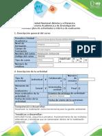 Guía de actividades y Rúbrica de evaluación - Fase 1 - Esquema explicativo - Reconocimiento del Curso (1).docx