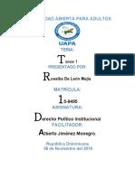 DERECHO POLITICO INSTITUCIONAL TAREA 1 ROSALBA.docx