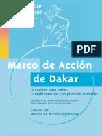 Marco de Acción de Dakar.pdf