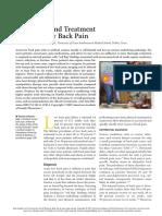 KINKADE 2007 EVALUATION AND TREATMENT OF ACUTE LOW BACK PAIN