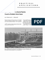 (1962) Operating Stresses in Buried Pipeline Found by Weldable Strain Gages