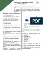 TALLER DE RECUPERACION- QUIMICA- 8°-I PERIODO
