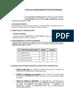ESPECIF. TECNICAS - COMBUSTIBLE
