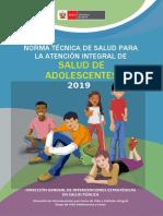 Norma técnica de Salud Integral del adolescente (1) (2)