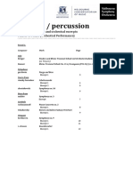 timpani-percussion orchestral excerpts