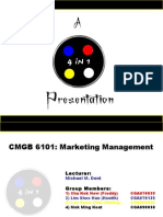 Presentation - Marketing(4 in 1),