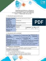 Guía de actividades y rúbrica de evaluación - Tarea 4 – Conceptos Básicos de Semiología