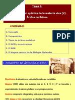 Temas 6 y 7. Ácidos nucleicos e información genética