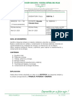 GUIA FISICA  No. 1 GRADOS 11