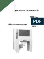 MAQ NRESTREGADORA (PIEZAS) mhxs-30-60