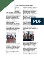Articulo Centro Literario