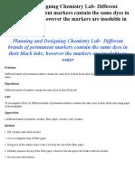 Chemistry Stuff
