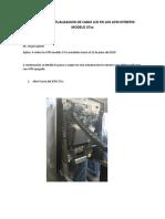 Manual de Actualizacion de Cable Lcd en Los Atm Intrepid Modelo 37xx