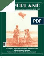 Revista Aeroplano número 27 del año 2009
