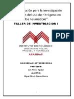 Plan de acción para la investigación Miguel