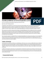 Grandes problemas con la Gran Explosión_ La teoría del Big Bang _ Respuestas en Génesis