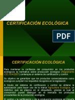 PPT certificación ecológica