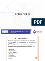 PRESENTACION ACTUADORES - SERVOMOTORES