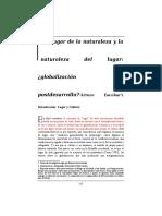 texto Globalizaci_n_y posdesarrollo Escobar (