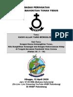 ACARA PASKAH BHS INDONESIA
